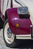 Vecchia lampada dell'automobile Fotografie Stock Libere da Diritti