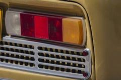 Vecchia lampada dell'automobile Fotografia Stock