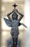 Vecchia lampada della statua Immagine Stock Libera da Diritti