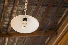 Vecchia lampada di lerciume Fotografia Stock