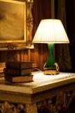 Vecchia lampada di notte Immagine Stock