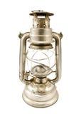 Vecchia lampada di olio fotografia stock