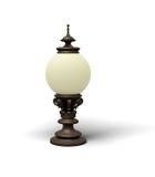 Vecchia lampada di via Immagini Stock