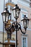 Vecchia lampada di via Fotografia Stock Libera da Diritti