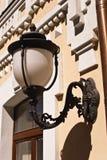Vecchia lampada di via Immagine Stock