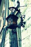 Vecchia lampada di via alla moda Fotografie Stock Libere da Diritti