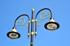 Vecchia lampada di via decorativa Immagini Stock