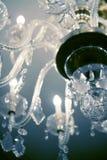 Vecchia lampada elettrica del lampadario a bracci Fotografia Stock Libera da Diritti