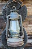 Vecchia lampada a olio immagini stock libere da diritti
