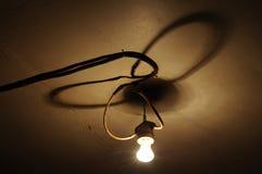 Vecchia lampadina Immagini Stock