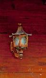 Vecchia lanterna. Immagine Stock