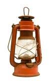 Vecchia lanterna arrugginita Fotografia Stock