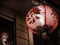 Vecchia lanterna cinese Immagini Stock