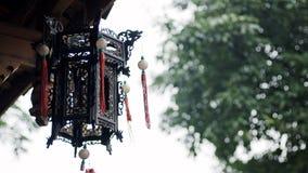 Vecchia lanterna del palazzo della città della Cina Immagine Stock Libera da Diritti