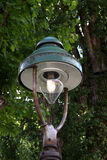 Vecchia lanterna del parco Fotografie Stock