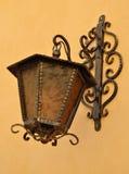 Vecchia lanterna della via Immagine Stock