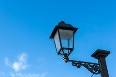Vecchia lanterna della via Fotografie Stock Libere da Diritti