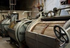 Vecchia lavatrice ad una prigione Fotografia Stock