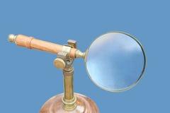Vecchia lente d'ingrandimento Fotografia Stock Libera da Diritti