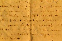 Vecchia lettera Immagine Stock