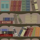 Vecchia libreria Fotografia Stock