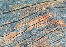 Vecchia linea di legno Fotografia Stock Libera da Diritti