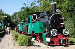Vecchia locomotiva Immagini Stock