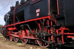 Vecchia locomotiva Fotografia Stock