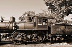 Vecchia locomotiva Fotografia Stock Libera da Diritti