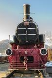 Vecchia locomotiva da Petrosani Immagine Stock