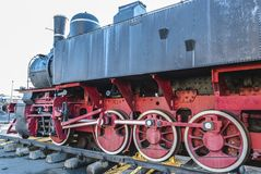 Vecchia locomotiva da Petrosani Immagine Stock Libera da Diritti
