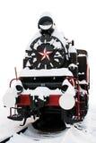 Vecchia locomotiva di vapore Fotografie Stock