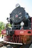 Vecchia locomotiva di vapore Immagini Stock Libere da Diritti