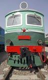 Vecchia locomotiva elettrica 1 Fotografia Stock