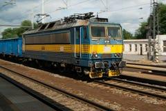 Vecchia locomotiva elettrica Fotografie Stock Libere da Diritti