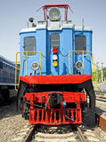 Vecchia locomotiva elettrica 2 Immagine Stock