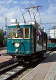 Vecchia locomotiva elettrica Fotografia Stock