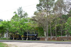 Vecchia locomotiva a Tegucigalpa, Honduras Fotografia Stock Libera da Diritti