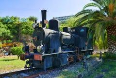 Vecchia locomotiva a vapore Fotografia Stock Libera da Diritti