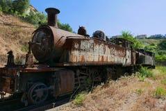 Vecchia locomotiva a vapore Immagini Stock