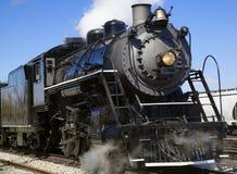 Vecchia locomotiva a vapore Fotografie Stock Libere da Diritti
