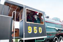 Vecchia locomotiva a vapore Immagine Stock