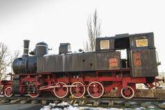 Vecchia locomotiva a vapore di Petrosani Fotografia Stock Libera da Diritti