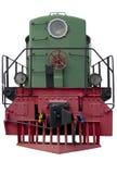 Vecchia locomotiva verde Immagini Stock Libere da Diritti
