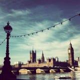 Vecchia Londra Fotografie Stock