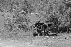 Vecchia macchina Fotografie Stock