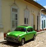Vecchia macchina cubana Immagini Stock Libere da Diritti
