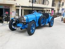 Vecchia macchina da corsa italiana immagini stock