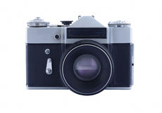 Vecchia macchina da presa fotografie stock libere da diritti