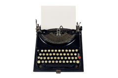 Vecchia macchina da scrivere immagine stock